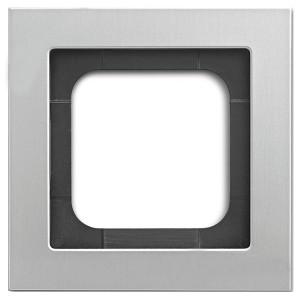 Рамка 1-постовая ABB Axcent металл титан (1721-276-500)