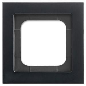 Рамка 1-постовая ABB Axcent металл матовый черный (1721-275-500)