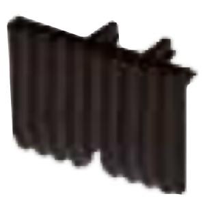 Внутренняя клавиша для механизма Hotel Card FEDE, черный
