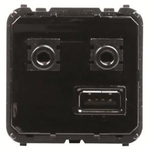 Механизм медиа-комбайна с USB входом, 3.5мм аудио-входом/выходом, ЦАП и Bluetooth Zenit (9368.3)