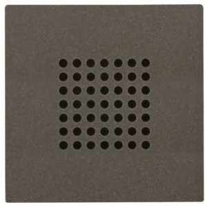 Накладка (решётка) для громковорителя 2 (арт.9329) Zenit  антрацит (N2229 AN)