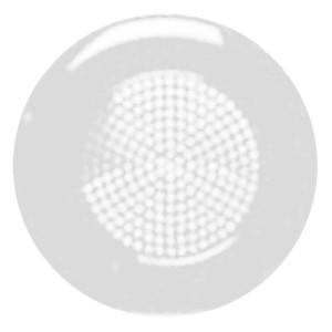 Решётка для громкоговорителя 2 (арт.9329) круглая Zenit белый (9399.4 BA)