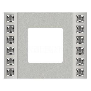 Рамка 1-ная Crystal De Luxe Decor, Bright Chrome