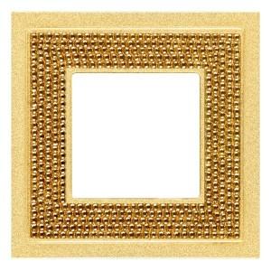 Рамка 1-ная Crystal De Luxe Art Real Gold