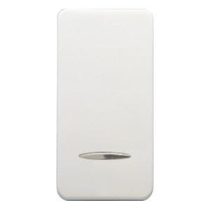 Клавиша узкая с подсветкой Fede белый