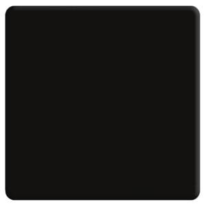 Клавиша широкая без подсветки Fede черный