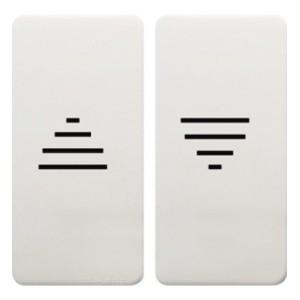 Клавиши для механизмов управления жалюзи Fede белый