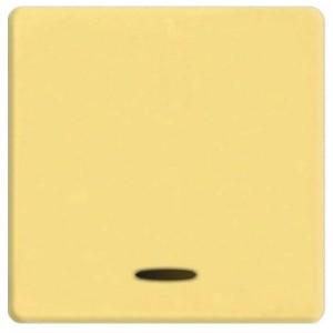 Клавиша широкая с подсветкой Fede Bright gold