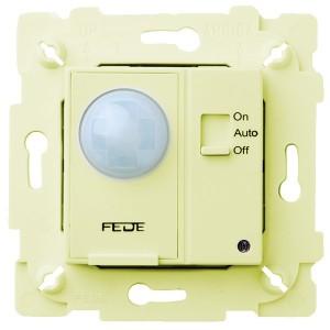 Выключатель с ИК-датчиком, с суппортом 800Вт 250В Fede Бежевый