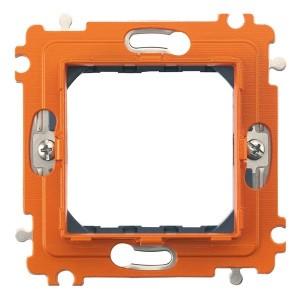 Суппорт для рамки на 2 модуля, фиксация на винтах Axolute