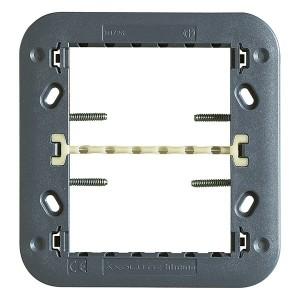 Суппорт для рамки на 3+3 модуля, фиксация на винтах Axolute