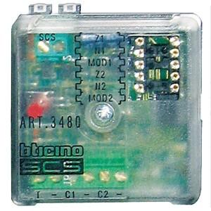 Базовый модуль приёма сигналов датчиков Bticino MyHOME
