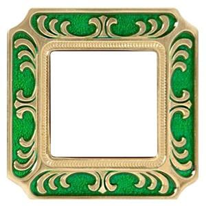 Рамка 1-ная Siena Smalto Italiano Fede Emerald Green