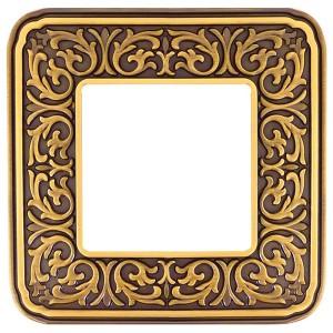 Рамка 1-ная Fede EMPORIO, bright patina