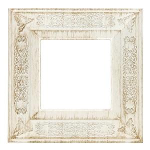 Рамка 1-ная GRANADA Fede, white decape