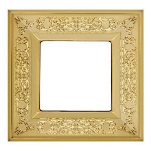 Рамка 1-ная GRANADA Fede, bright gold