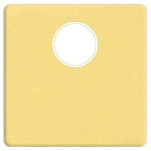 Накладка TV розетки с 1-м разъемом Fede Bright gold бежевый