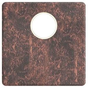 Накладка TV розетки с 1-м разъемом Fede Rustic copper бежевый