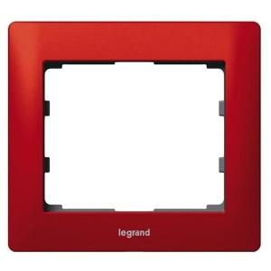 Рамка Legrand Galea Life 1 пост Magic Red