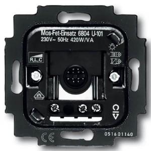 Датчик движения ABB для ламп 230В и 12В с электронными трансформаторами 60-420Вт (6804 U-101-500)