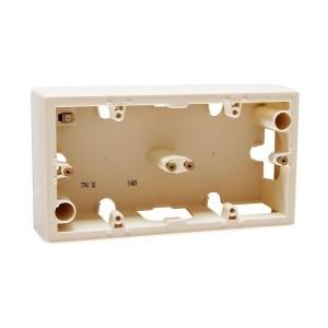 Коробка Legrand Valena 2 поста для накладного монтажа слоновая кость
