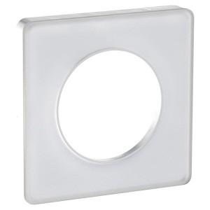 Рамка Odace 1 пост белый (белая вставка)