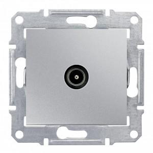 TV коннектор оконечный Sedna, алюминий