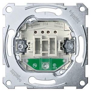 Выключатель 1-клавишный с подсветкой Merten механизм
