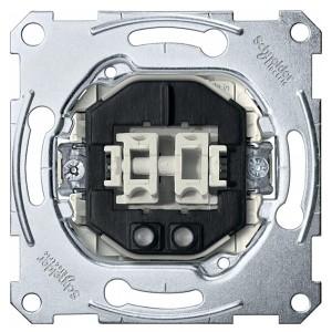 Выключатель 2-клавишный с подсветкой Merten механизм