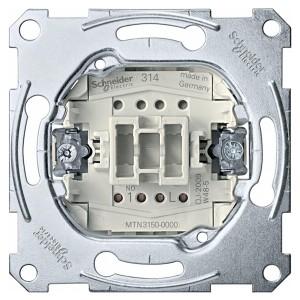 Выключатель кнопочный 1-клавишный Merten механизм