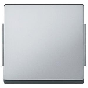 Клавиша 1-ая IP44 для кноп/клав выключателей Aquadesign Merten алюминий