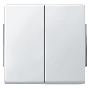 Клавиша 2-ая IP44 для кноп/клав выключателей Aquadesign Merten полярно-белый
