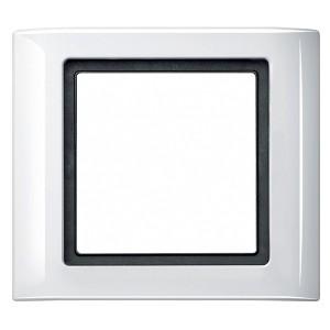 Рамка 1-ая IP44 Aquadesign Merten Полярно-белый