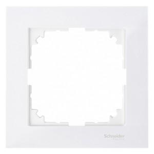 Рамка 1-ая M-Pure Полярно-белый