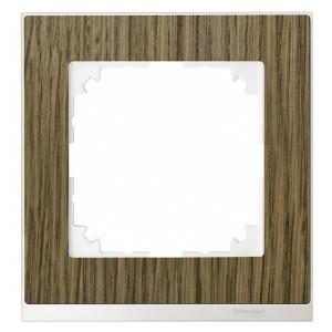 Рамка 1-ая M-Pure Decor Дуб/Бриллиантовый белый