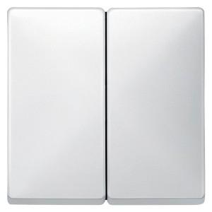 Клавиша 2-ая для выключателей и кнопок System Design Merten полярно-белый