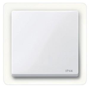 Клавиша 1-ая IP44 для выключателей и кнопок System M Merten активный белый