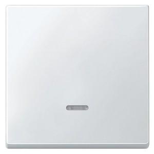 Клавиша 1-ая с подсветкой для клав/кноп. выключателей System Design Merten полярно-белый