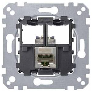 Компьютерная розетка 5 категории STP 1хRj45 Merten механизм