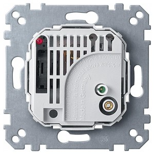 Терморегулятор с выключателем Merten механизм