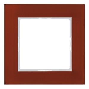 Рамка 1-ая стекло Jung A Creation Красный