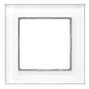 Рамка 1-ая стекло Jung A Creation Белый