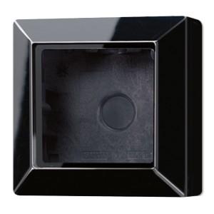 Коробка для накладного монтажа 1-ая Jung A Черный