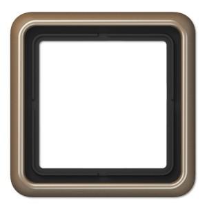 Рамка 1-ая Jung CD 500 Золотая бронза