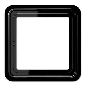 Рамка 1-ая Jung CD 500 Черный