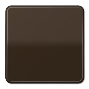 Клавиша 1-ая для одноклавишного выключателя/кнопки Jung CD Коричневый