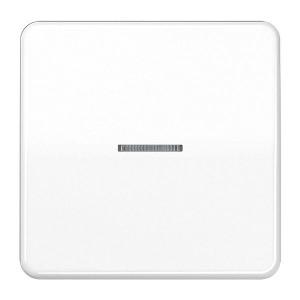 Клавиша 1-ая для одноклавишного выключателя/кнопки с подсветкой Jung CD Белый