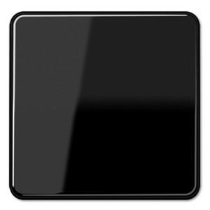 Клавиша 1-ая для одноклавишного выключателя/кнопки Jung CD Черный