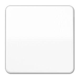 Клавиша 1-ая для одноклавишного выключателя/кнопки Jung CD Белый
