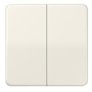 Клавиша 2-ая для двухклавишного выключателя/кнопки Jung CD Слоновая кость
